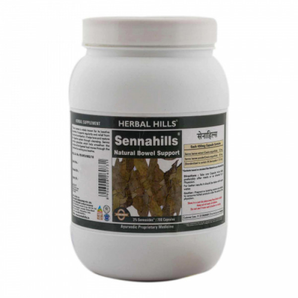 Herbal Hills Sennahills, 700 Capsules