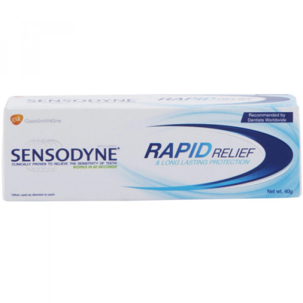 Sensodyne Rapid Toothpaste, 40gm