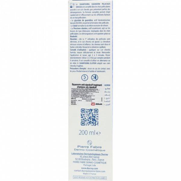 Ducray Squanorm Anti-Dandruff Shampoo, 200ml