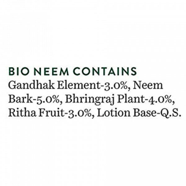 Biotique Bio Neem Margosa Anti Dandruff Shampoo & Conditioner, 800ml
