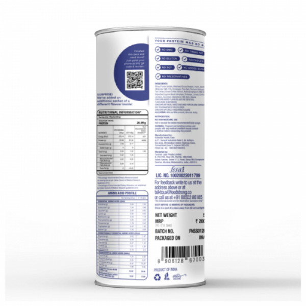 Foodstrong Shape Shake Chocolate Smoothie Lite, 528gm