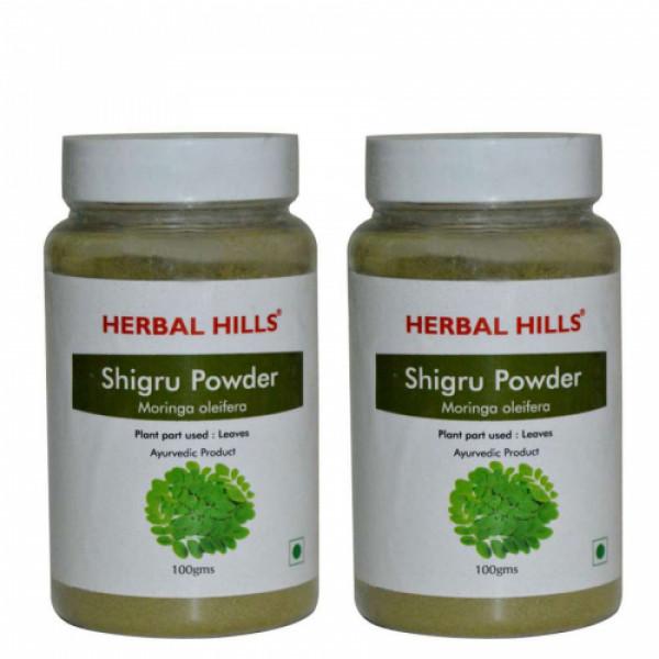 Herbal Hills Shigru Powder, 100gm (Pack Of 2)
