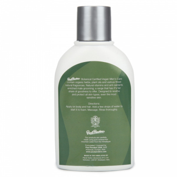 Paul Penders Men's Best Shower & Shampoo, 125ml