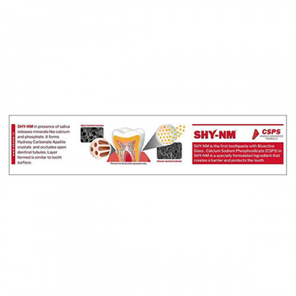 SHY-NM Toothpaste for Sensitive Teeth, 100gm