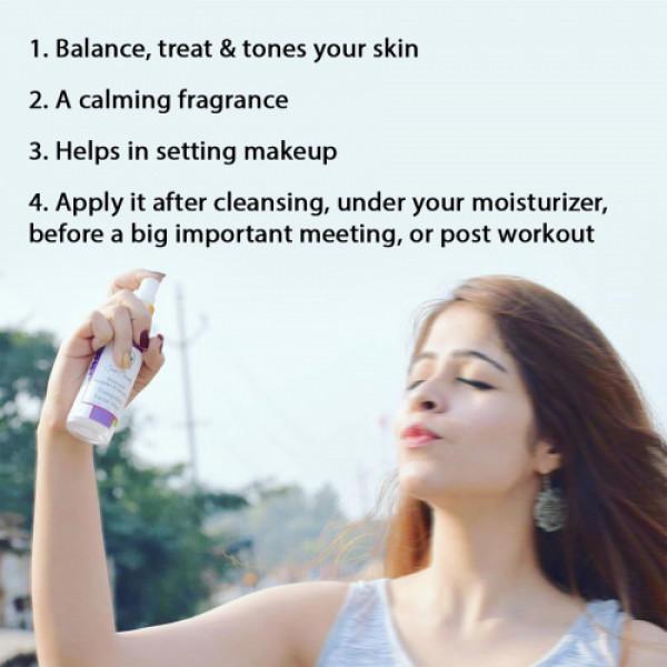 Seer Secrets Silverated Lavender & Geranium Tranquility Facial Mist, 100ml