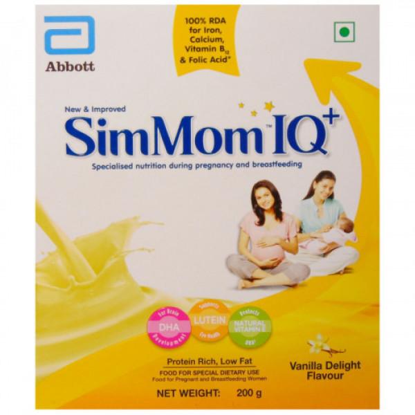 SimMom IQ Plus Vanilla Delight Refill Pack, 200gm