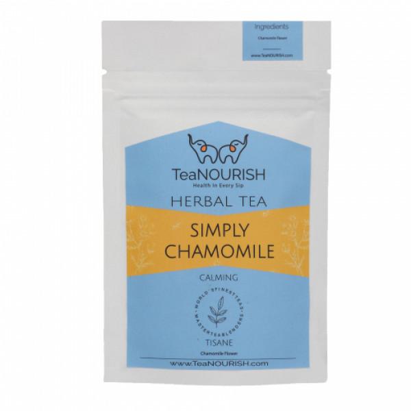 TeaNOURISH Simply Chamomile Herbal Tea, 50gm