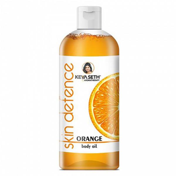 Keya Seth Aromatherapy Skin Defence Orange Body Oil, 400ml