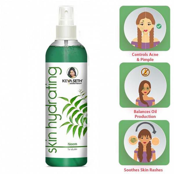 Keya Seth Aromatherapy Skin Hydrating Neem Toner, 200ml