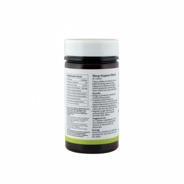 Bipha Ayurveda Sleep Support Blend, 60 Tablets