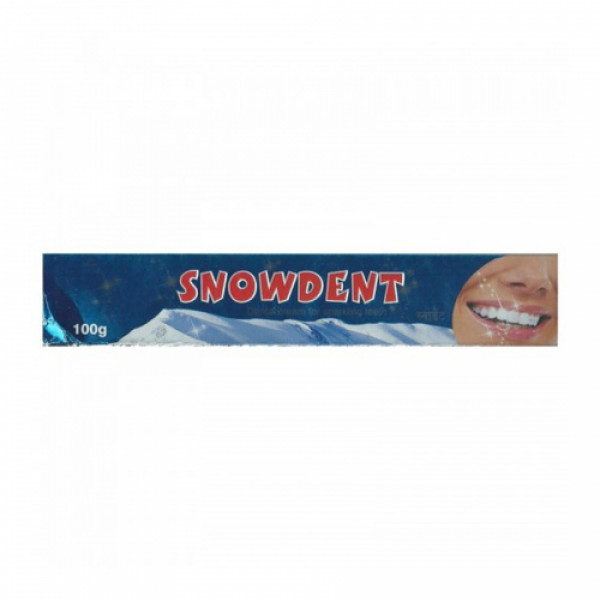 Snowdent Toothpaste, 100gm
