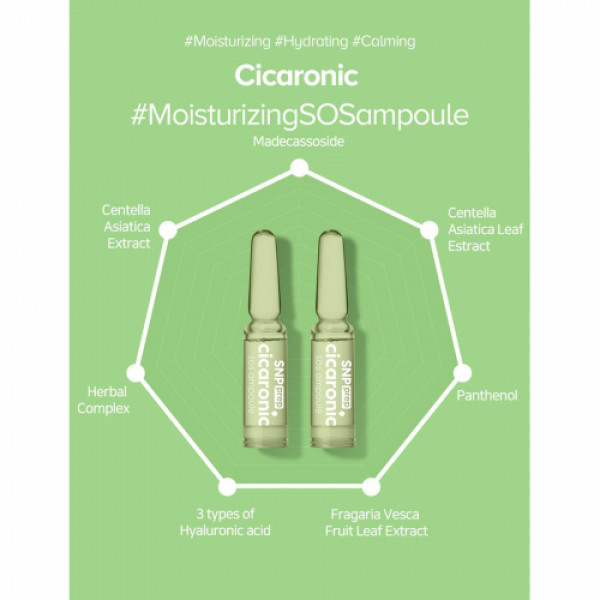 SNP Prep Cicaronic SOS Ampoule, 1.7ml