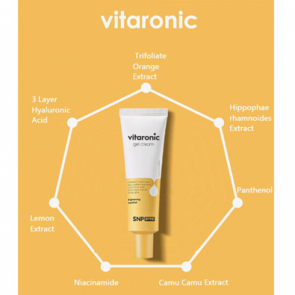 SNP Prep Vitaronic Gel Cream, 50gm