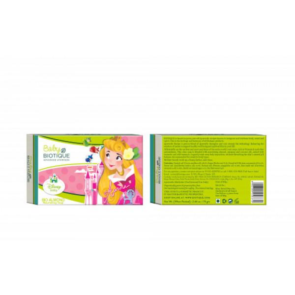 Biotique Bio Almond Baby Princess Nourishing Soap,75gm