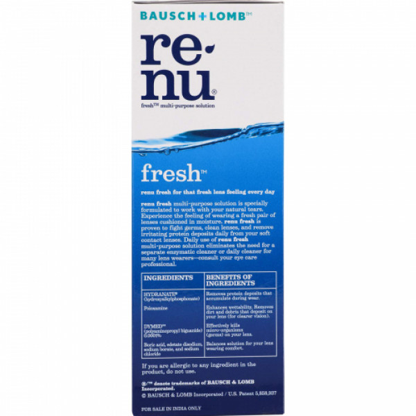 Re-nu Fresh Lens Solution, 500ml