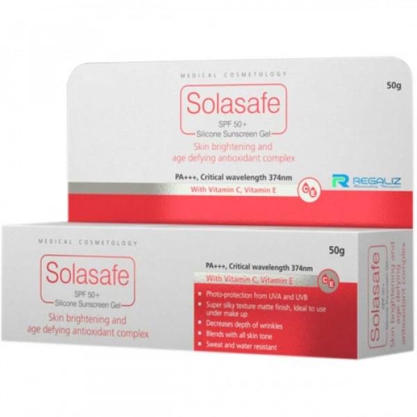 Solasafe SPF 50+ Silicone Sunscreen, 50gm
