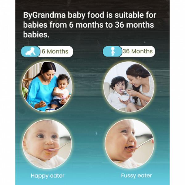 ByGrandma Soya, Wheat With Almonds & Sunflower Seeds Baby Porridge Mix, 280gm