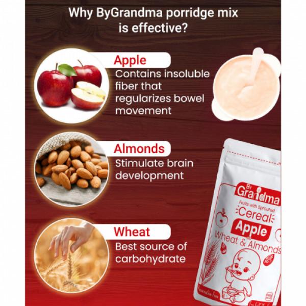 ByGrandma Apple With Wheat & Almonds Baby Porridge Mix, 280gm