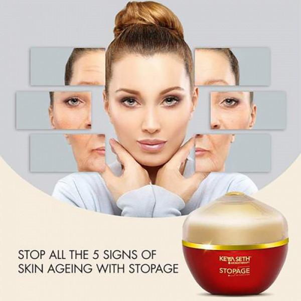 Keya Seth Aromatherapy Stopage Age Reversal Complex Night Cream, 10gm