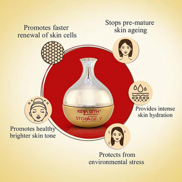 Keya Seth Aromatherapy Stopage V - The Age Reversal Complex, 50gm