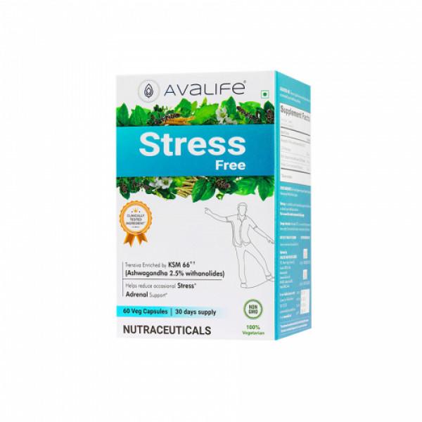 Avalife Stress Free, 60 Capsules