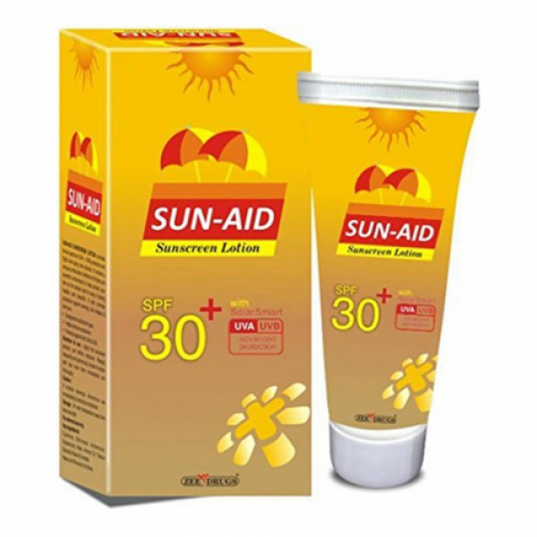 Sun-Aid Sunscreen Lotion SPF 30, 100gm