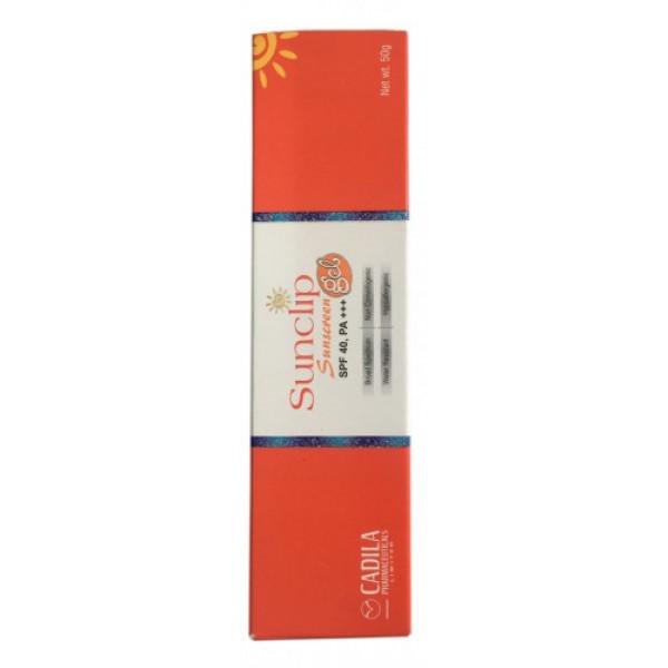 Sunclip Sunscreen Gel SPF 40, 50gm