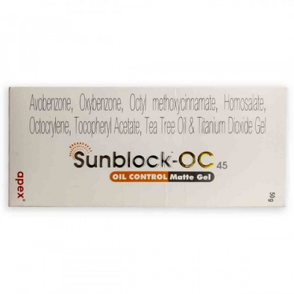 Sunblock OC Gel, 50gm