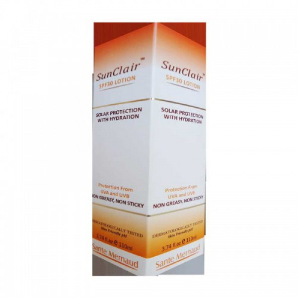 Sunclair SPF 30 Lotion, 110ml