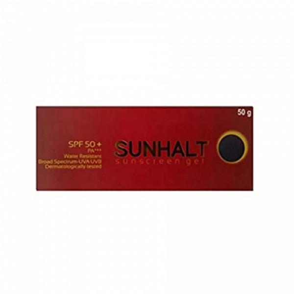 Sunhalt SPF50+ PA+++ Sunscreen Gel, 50gm