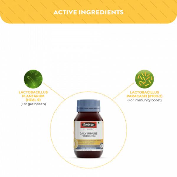 Swisse Ultibiotic Daily Immune Probiotic, 30 Capsules