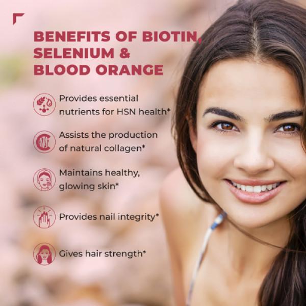 Swisse Ultiboost Hair, Skin and Nails Liquid Supplement, 300ml