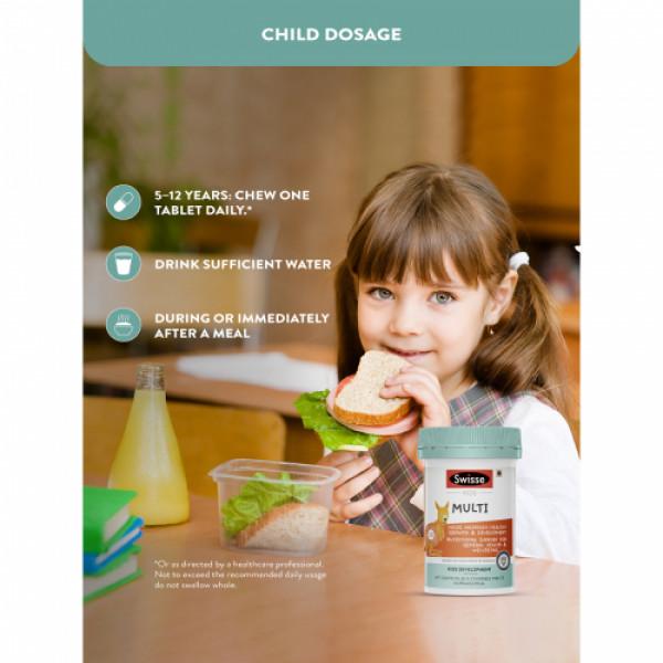 Swisse Ultiboost Kids Multivitamins, 60 Tablets