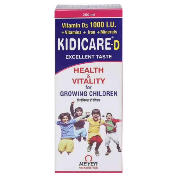 Kidicare-D Syrup, 200ml