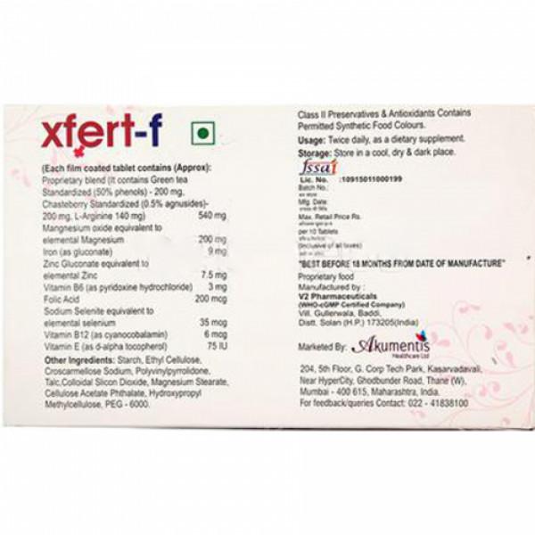 Xfert F, 10 Tablets