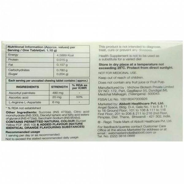 Limcee Plus Chewable, 15 Tablets
