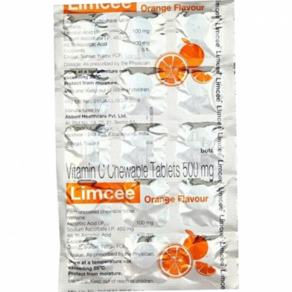 Limcee Chewable, 15 Tablets