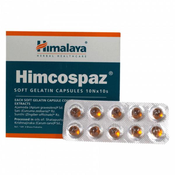 Himalaya Himcospaz Soft, 10 Capsules