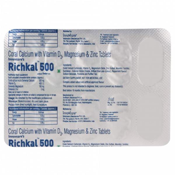 Richkal, 10 Tablets