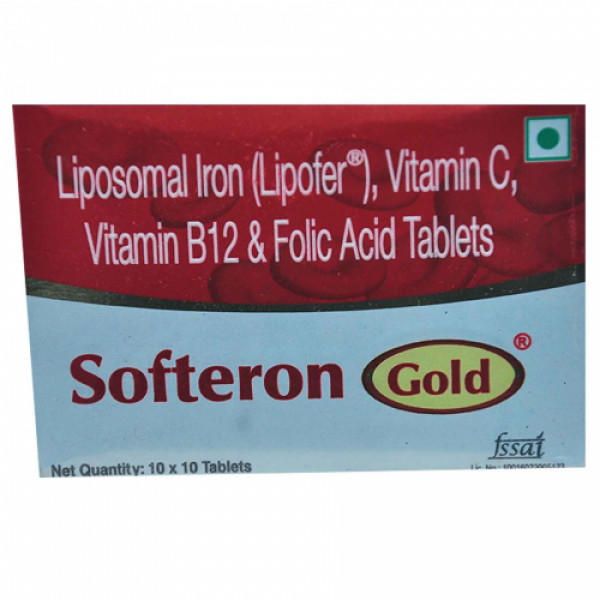 Softern Gold, 10 Tablets