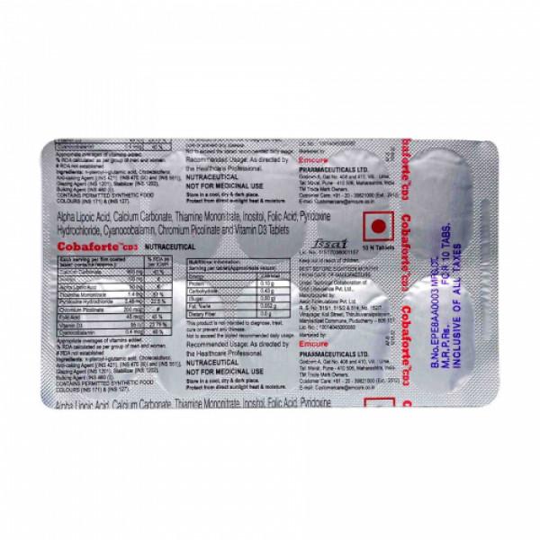 Cobaforte CD3, 10 Tablets