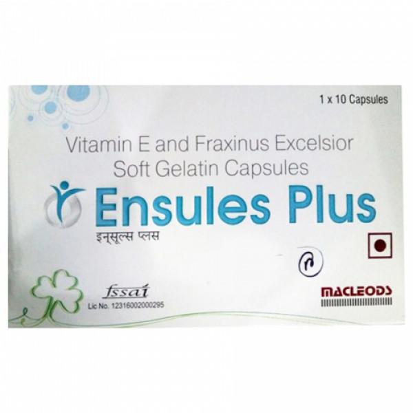 Ensules Plus, 10 Capsules