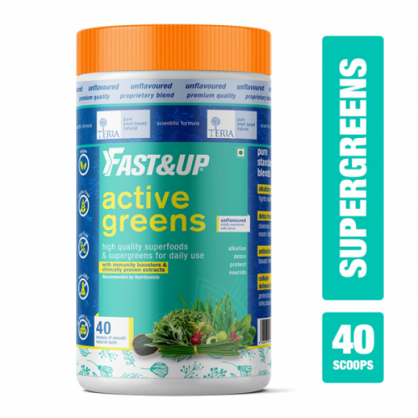 Fast&Up Active Greens, 280gm