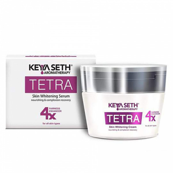 Keya Seth Aromatherapy Tetra Skin Whitening Night Cream, 15gm