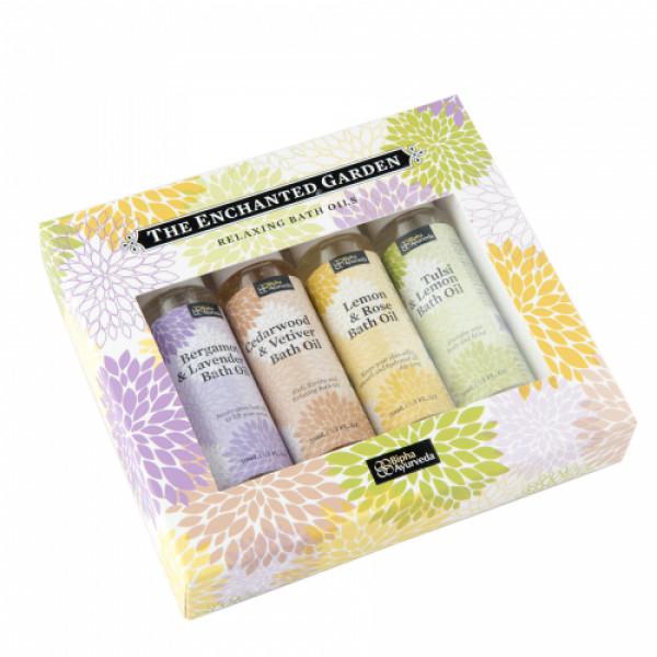 Bipha Ayurveda The Enchanted Garden Bath Oils