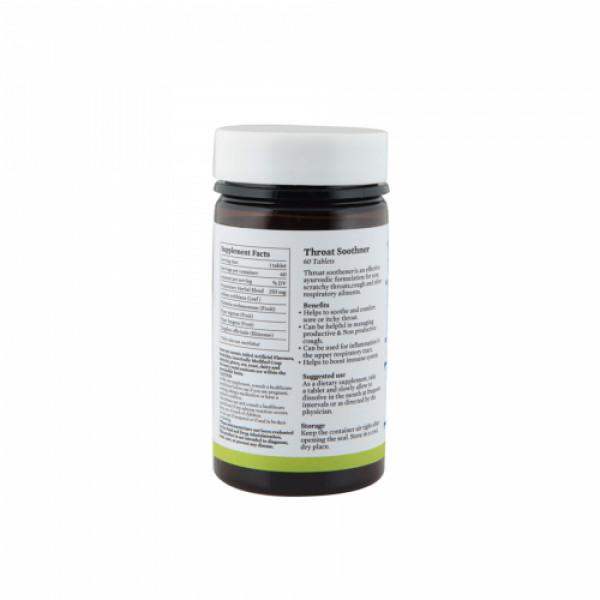 Bipha Ayurveda Throat Soothener, 60 Tablets