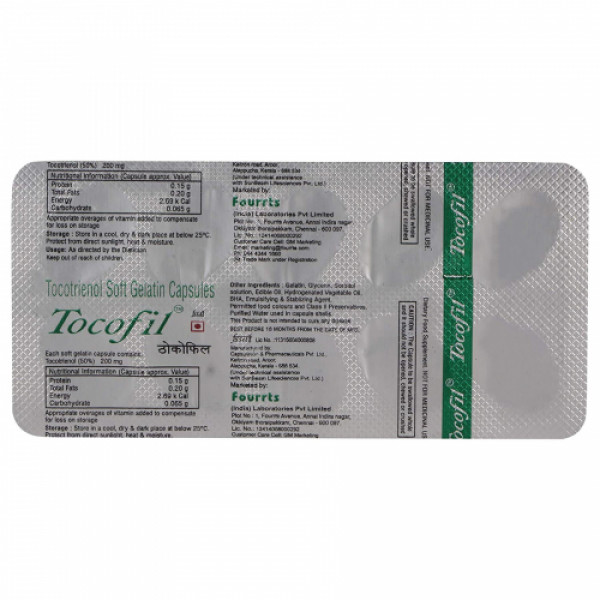 Tocofil, 10 Capsules