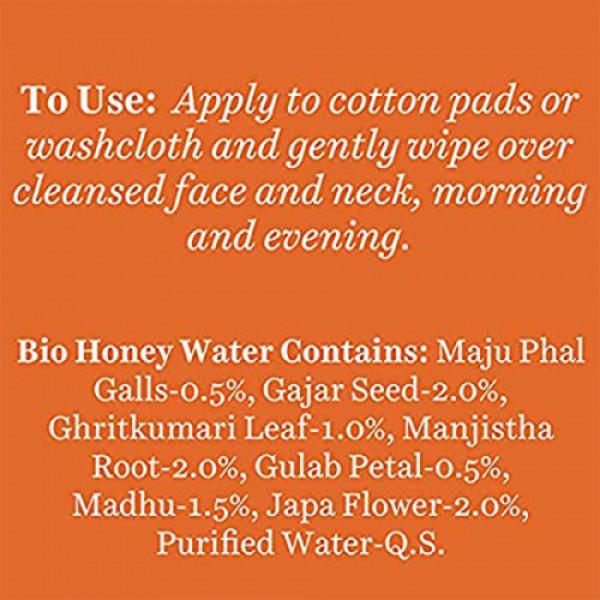 Biotique Bio Honey Water Toner, 120ml