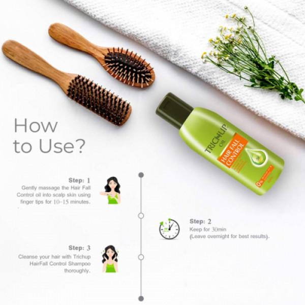 Trichup Hair Fall Control Oil, 200ml