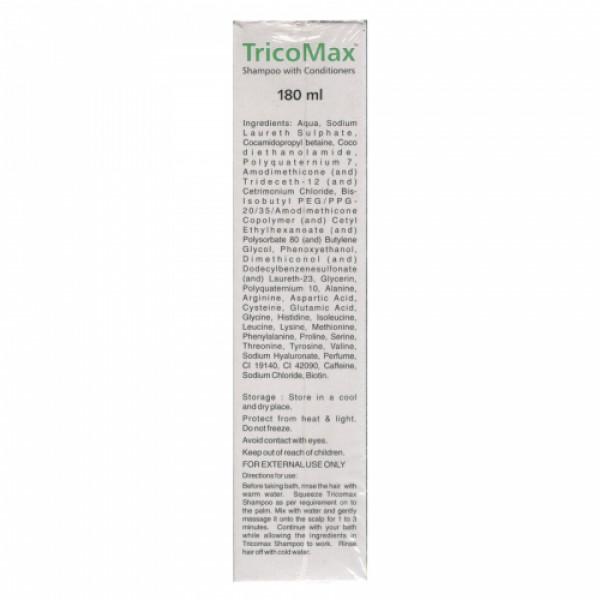 Tricomax Shampoo With Conditioner, 180ml